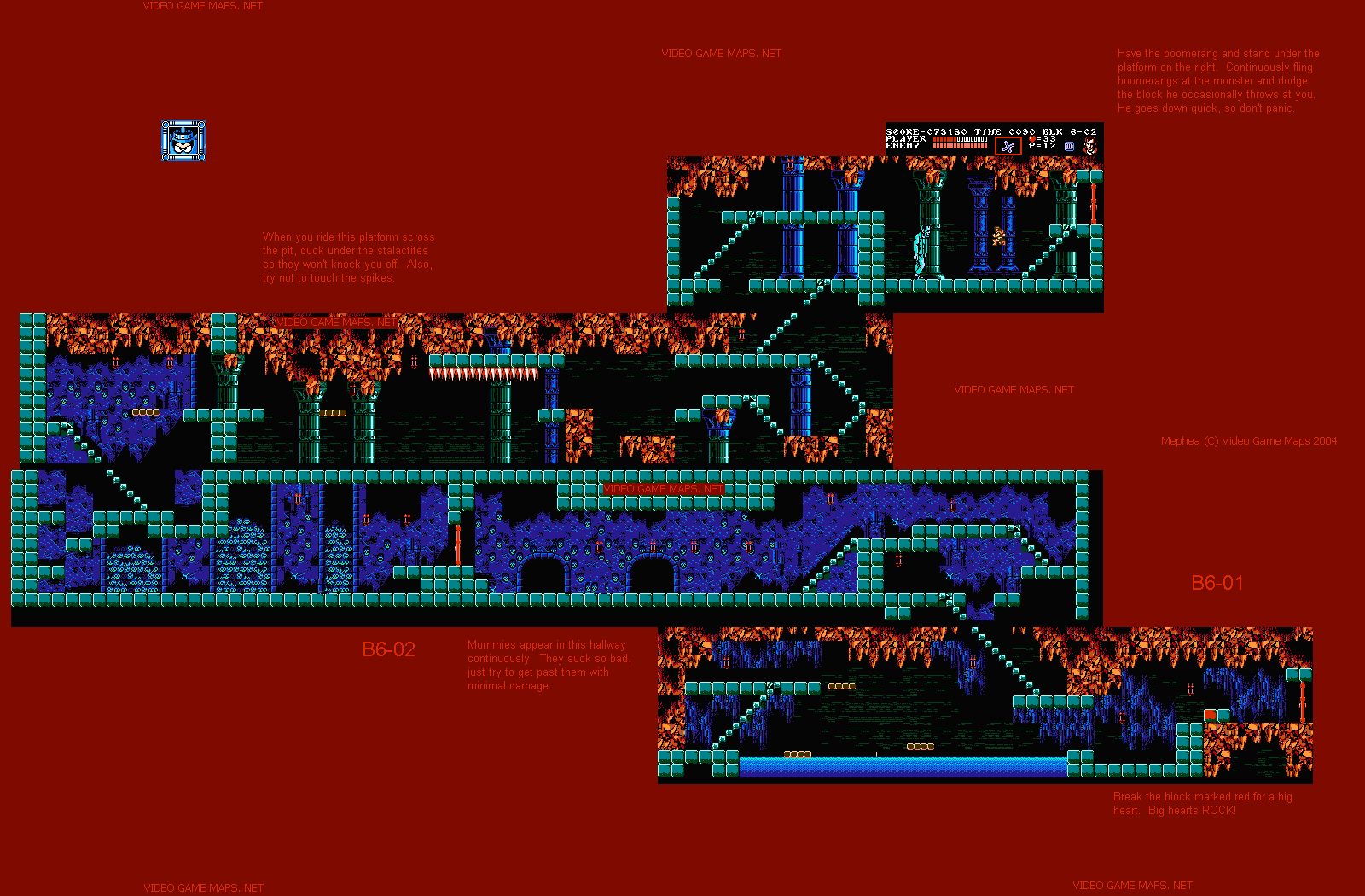 Castlevania World Map.Vgm Maps And Strategies