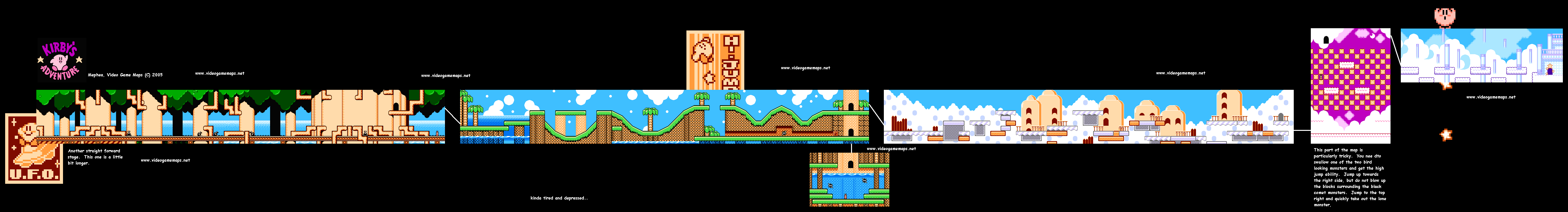 VGM: Maps and Strategies! Kirby Dreamland World Map on kirby's dreamland map, super mario world 2 map, lovecraft h.p. lovecraft world map,